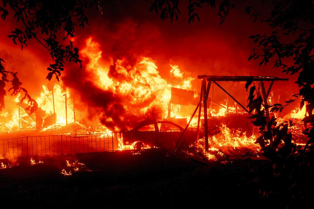 Berry Creek wildfire