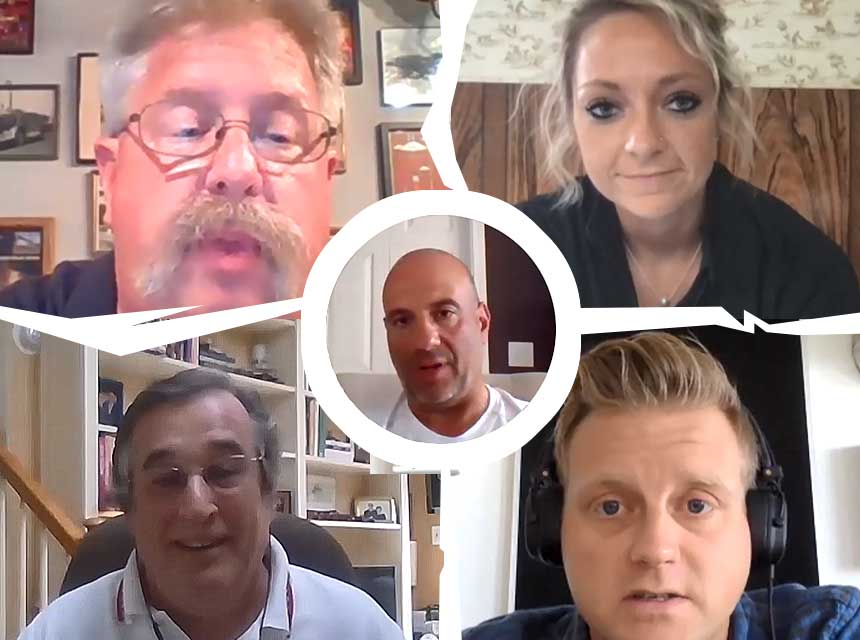 Paul Dansbach, Lex Shady, James Johnson, Jack Murphy and Joe Pronesti