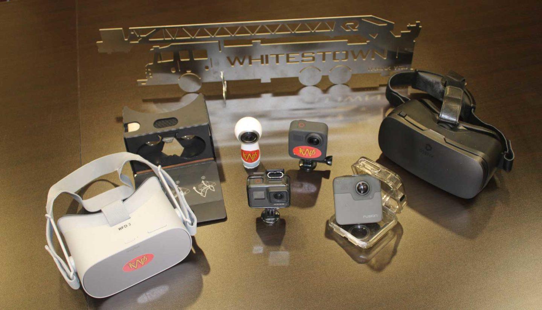 Fire department VR cameras