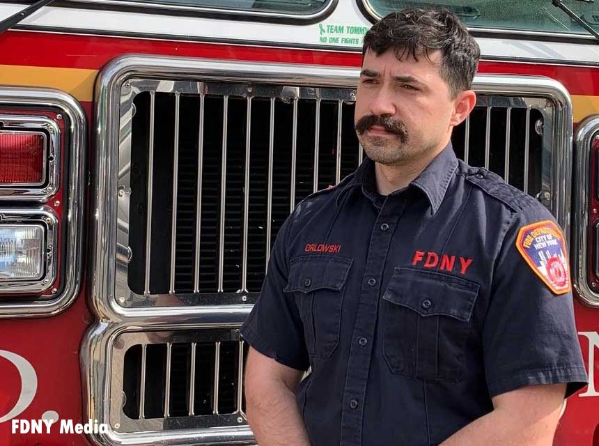 FDNY Firefighter Piotr Orlowski
