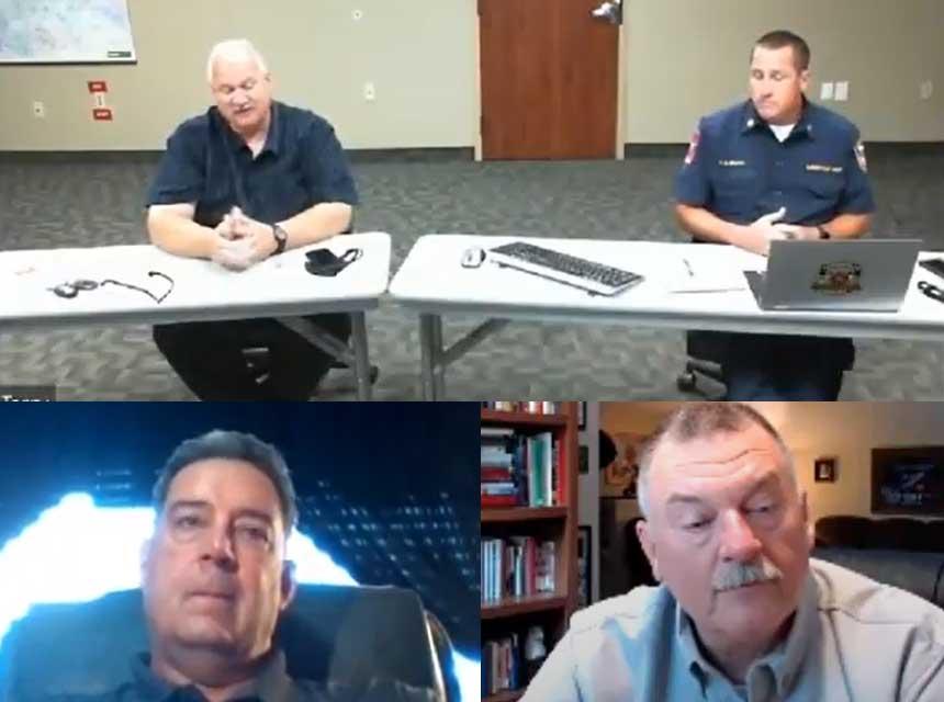 Rick Lasky, Terry McGrath, John Salka, and Scott Thompson