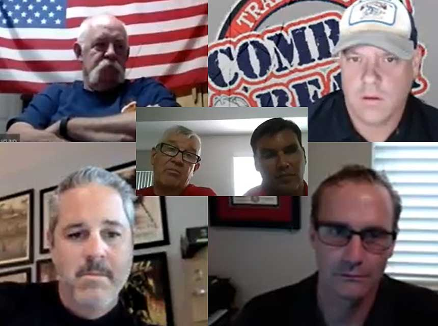 Humpday hangout with Mike Dugan, Bill Gustin, George May, Clark Lamping, and Sam Hittle