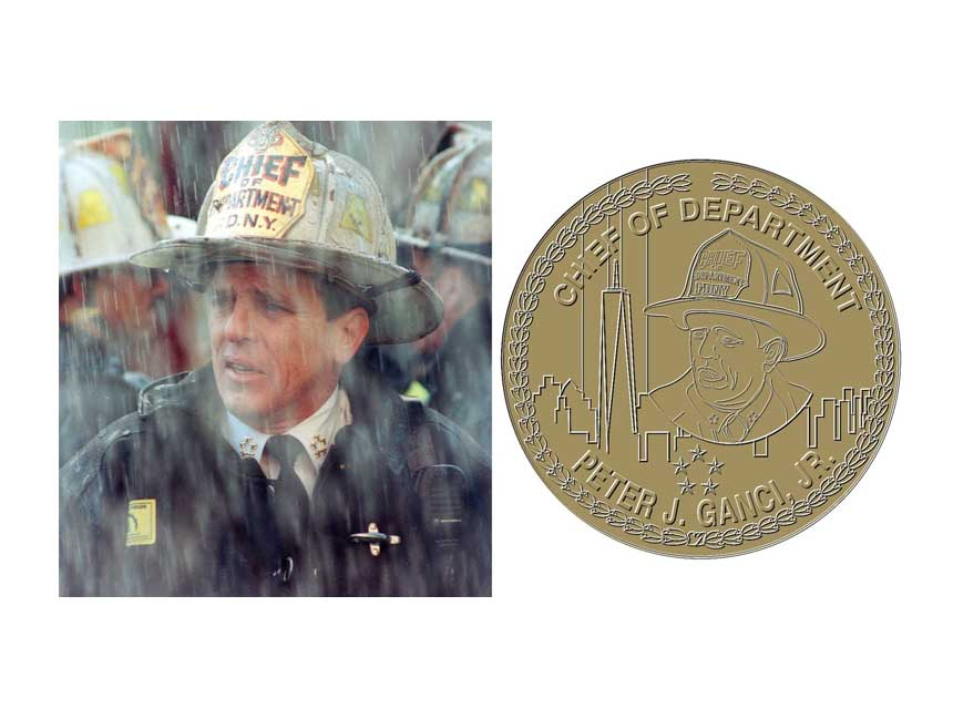 New design for Pete Ganci medal FDNY