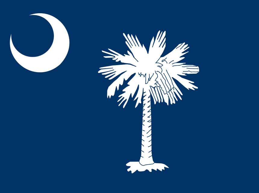 Flag of South Carolina