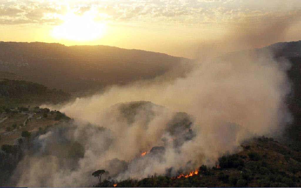 Wildfire in Lebanon