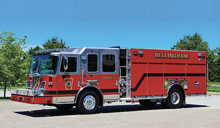 Bellingham MA fire apparatus