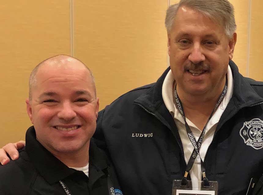 Chris Baker and Gary Ludwig