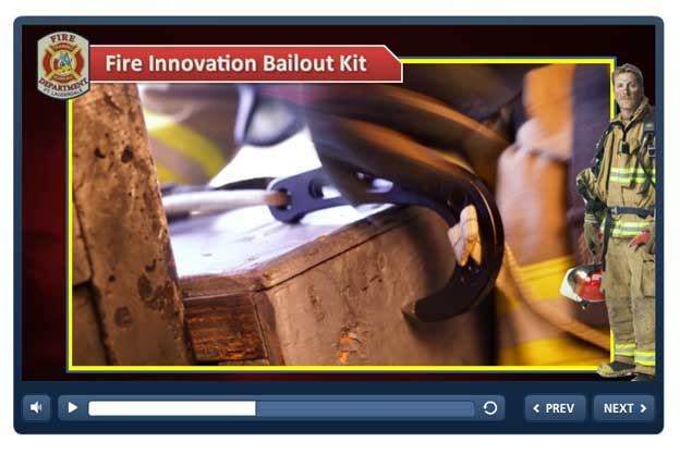 Fire innovation bailout kit