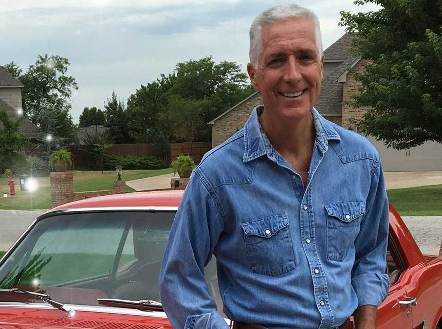 Bobby Halton with car