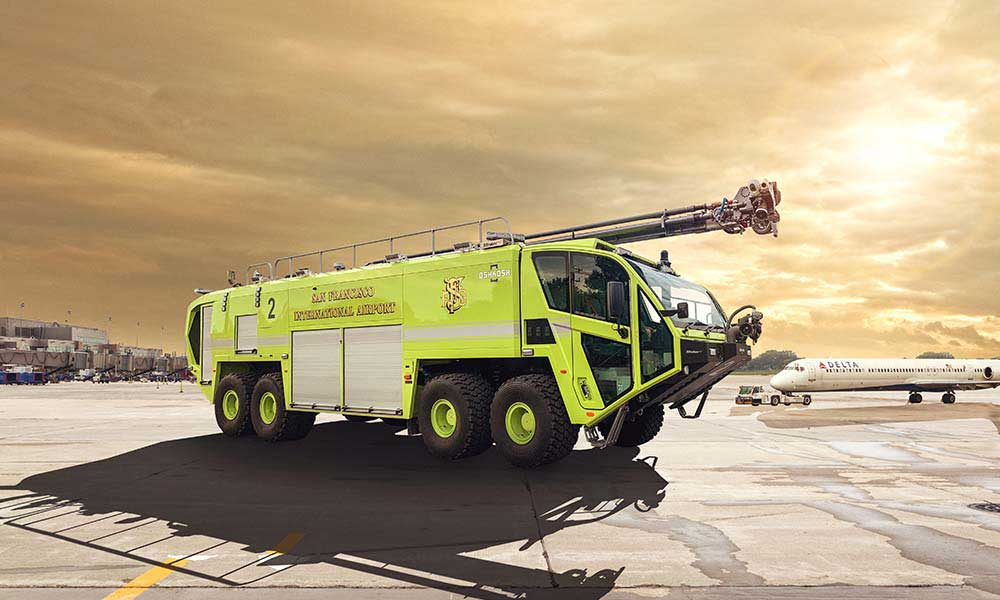 Oshkosh Striker 8x8 ARFF Vehicle