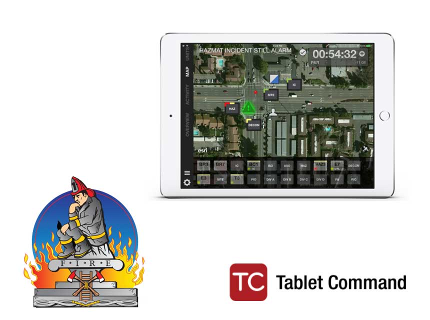 TrainFirefighters and Tablet Command