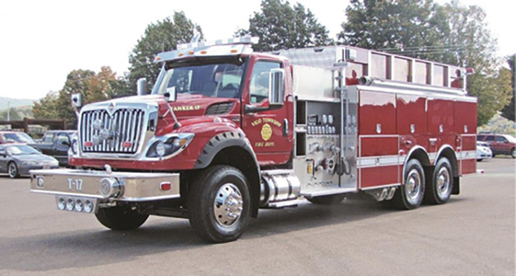 4 Guys Fire Truck for the Vigo Township IN Fire Department.