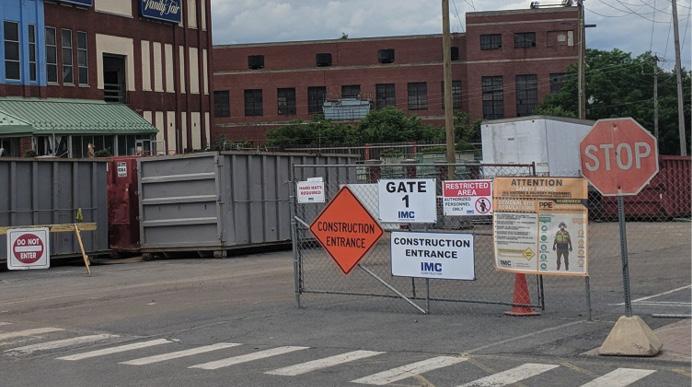 Preplanning demolition sites
