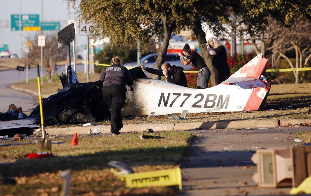 Fatal Texas plane crash