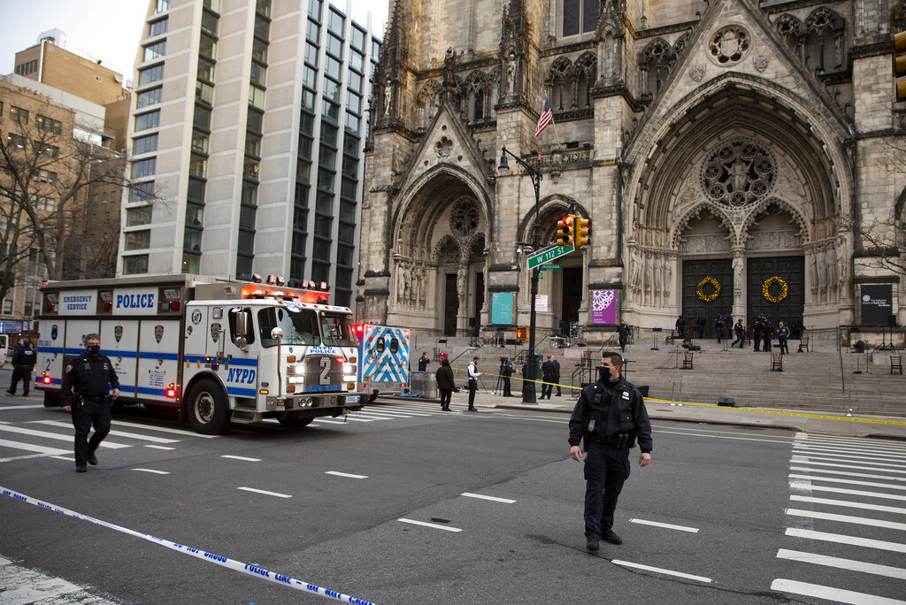 Shooting at St. John the Divine in NYC