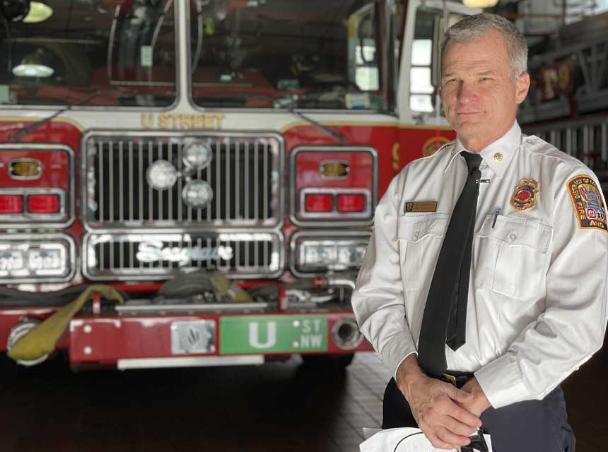 The District of Columbia Council has confirmed John A. Donnelly, Sr. as the new fire chief D.C. Fire and Emergency Medical Services.