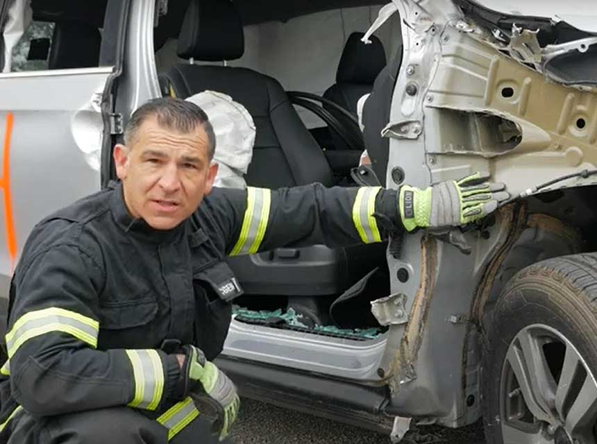 Randall Wells on vehicle extrication