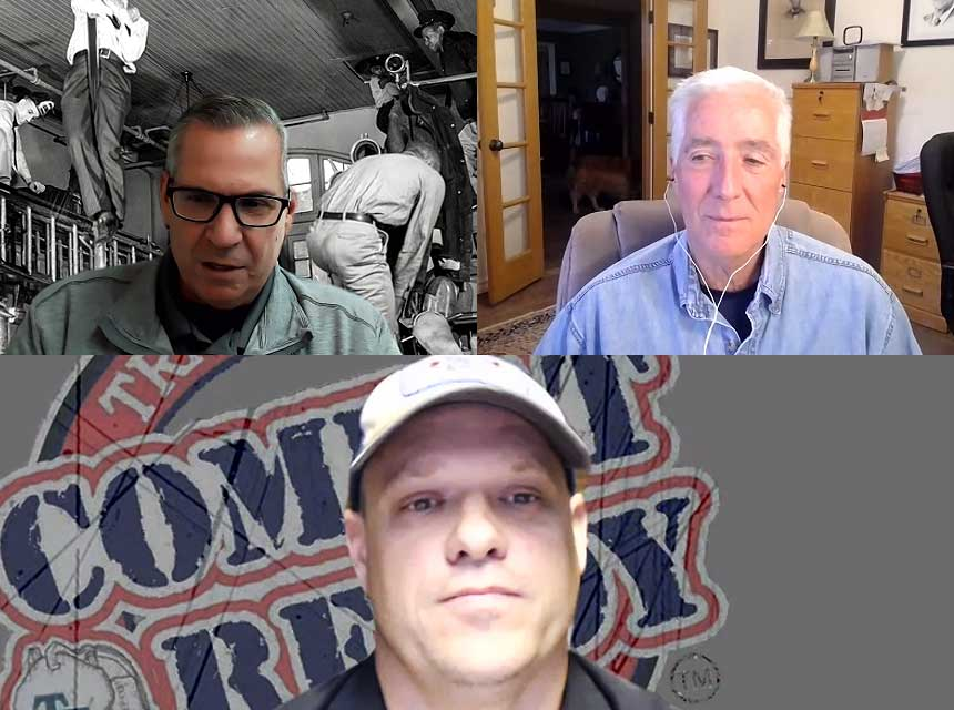 Ricky Riley, Bobby Halton, and Sam Hittle