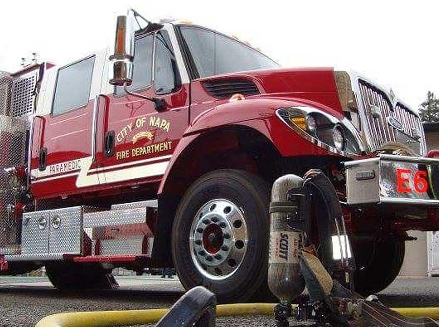 Napa CA Fire Truck
