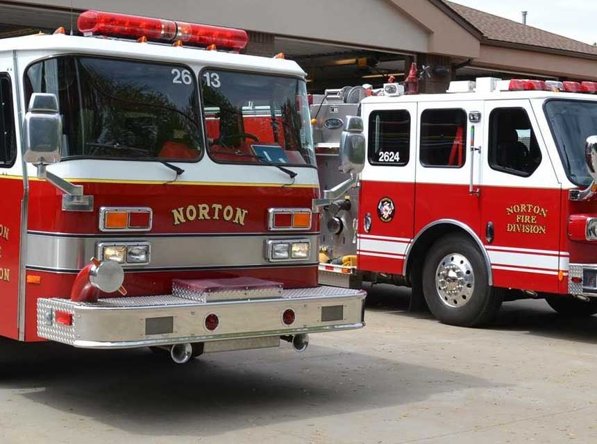 Norton OH Division of Fire apparatus