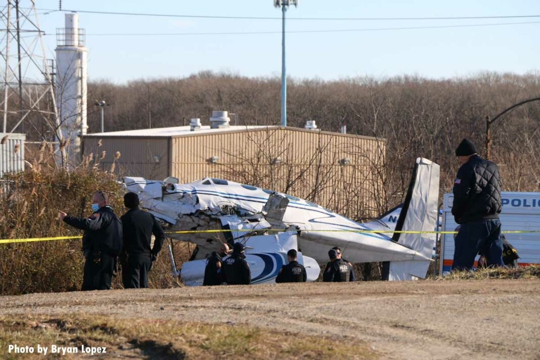 Plane crash on Long Island