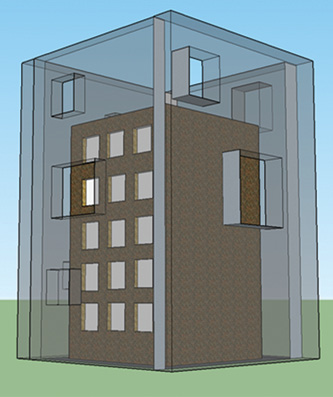 Figure 3. Fictitious Wind Design