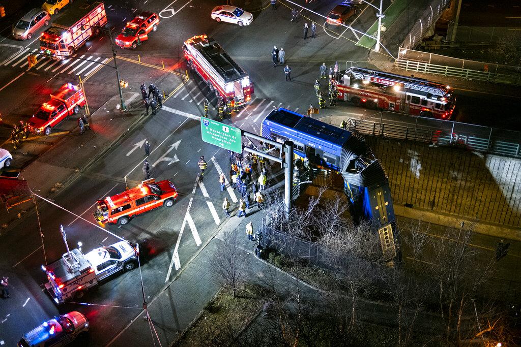 Bronx overpass bus crash