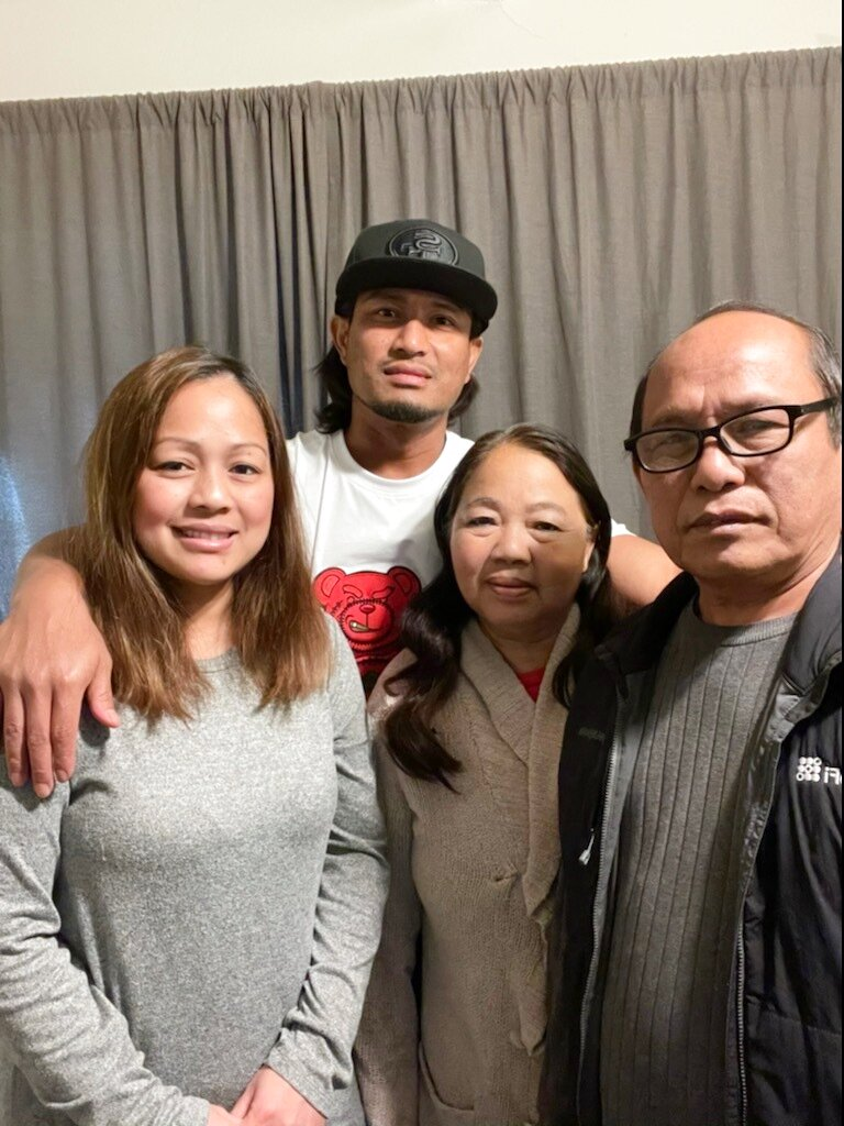 Injured inmate California firefighter released to his family for now
