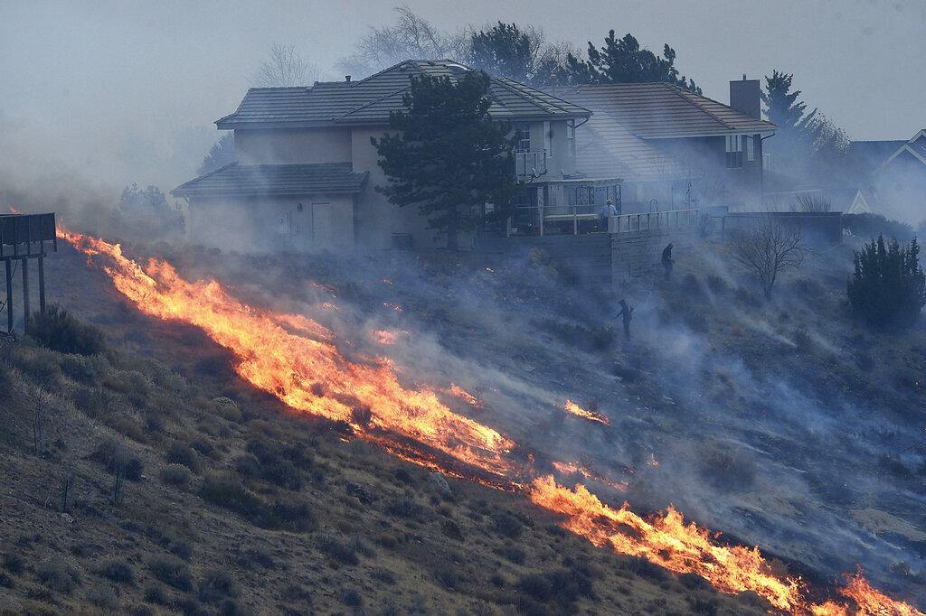Reno wildfire
