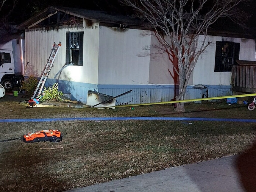 Fatal mobile home fire