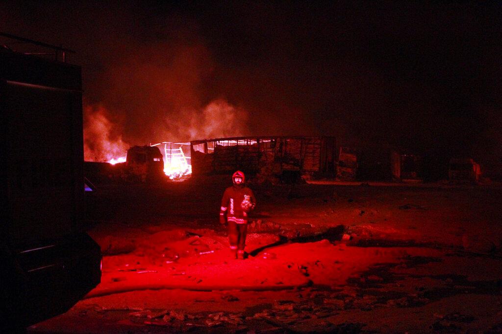 Afghan-Iranian border fire