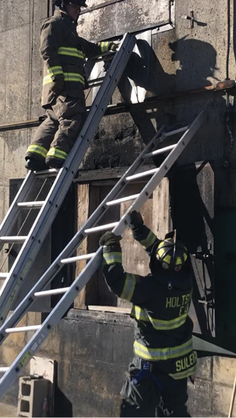 Drilling on single-firefighter ladder raises will enhance your knowledge and allow you to train for the unforeseen on the fireground.