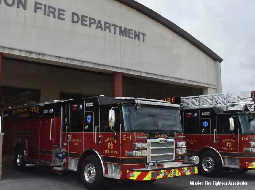Mission TX Fire Station and Apparatus