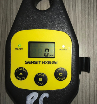 Some MOS-based instruments will automatically change the display from ppm to percent LEL, sound an alarm, and have a tick function to allow you to locate the source of a small leak and low concentrations of gas.