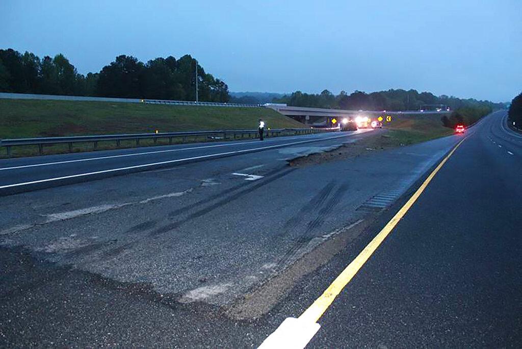Deadly crash on Georgia interstate