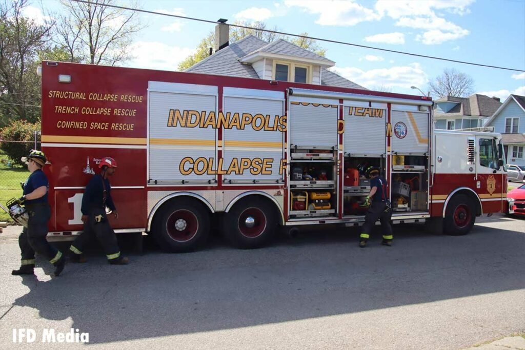 Indy Collapse Rescue Team vehicle