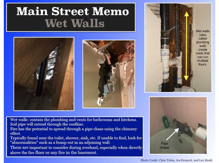Wet walls