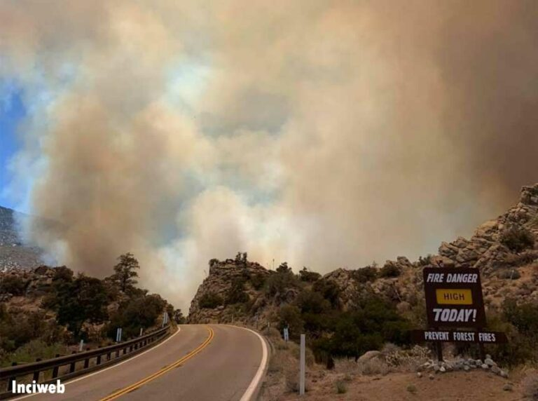 Two Homes Destroyed in CA Brush Fire