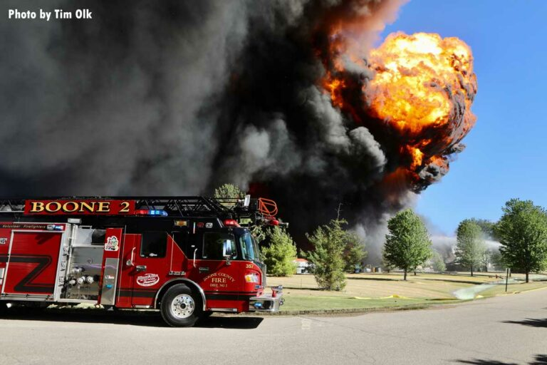 IL Chemical Plant Explosion, Fires Prompt Evacuations
