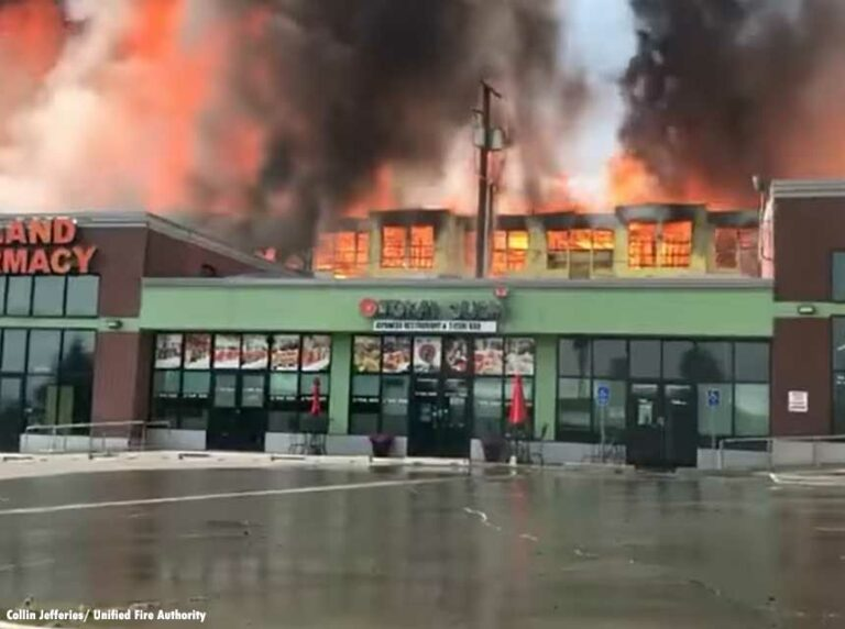 Three-Alarm Fire Causes Millions in Damage at UT Apartment Complex