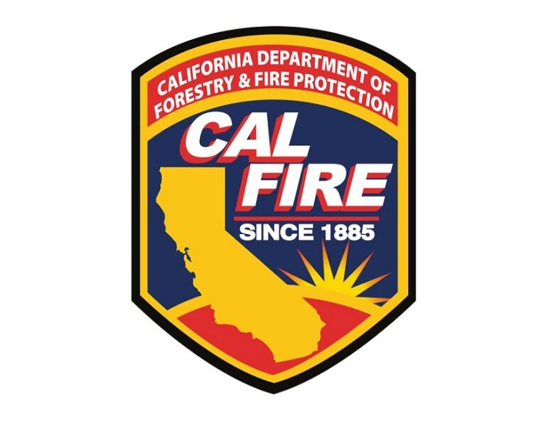 CAL FIRE Unit Rolls Over Responding to Fire in Auburn (CA)