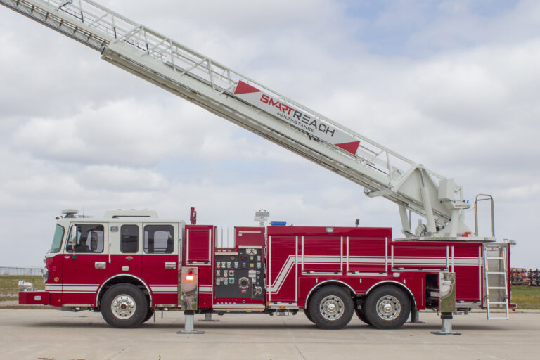 Spartan Emergency Response Introduces Smart Reach Multi-Stance Smeal Ladder Control System