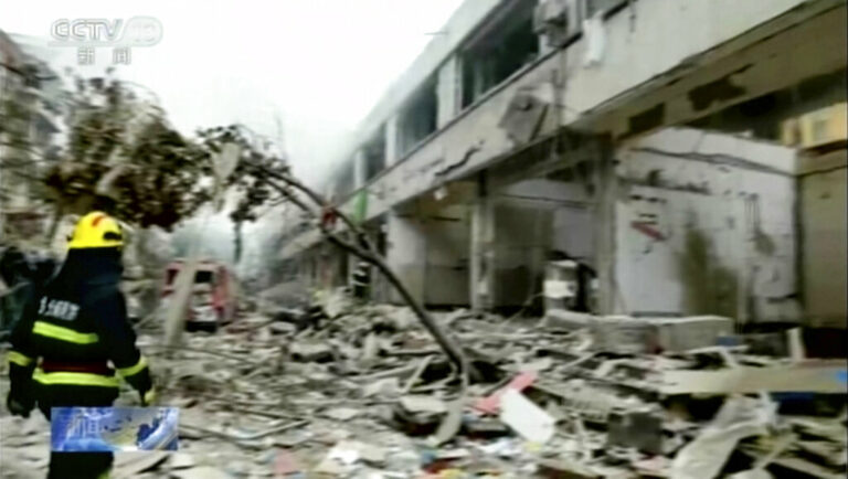 Gas Explosion in China Kills at Least 12 People