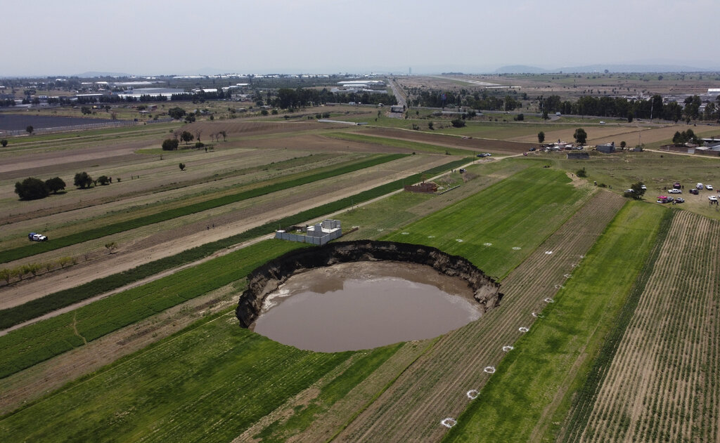 Sinkhole in Mexico