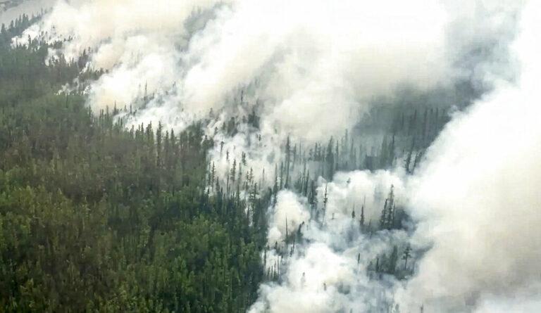 Wildfires Burn in Siberia, Russian Far East