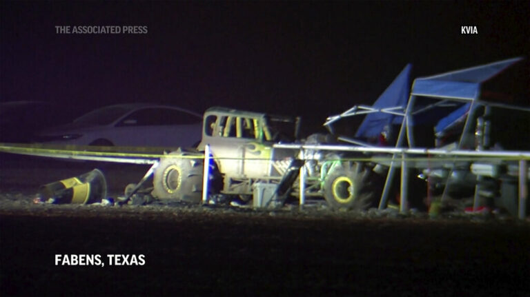 Eight Hurt as Vehicle Crashes Guard Rail at TX Race Track