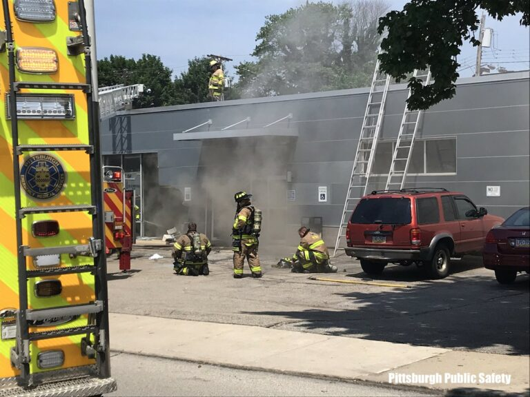 Three Dead After Car Crashes Into Pittsburgh (PA) Building Housing Plasma Center