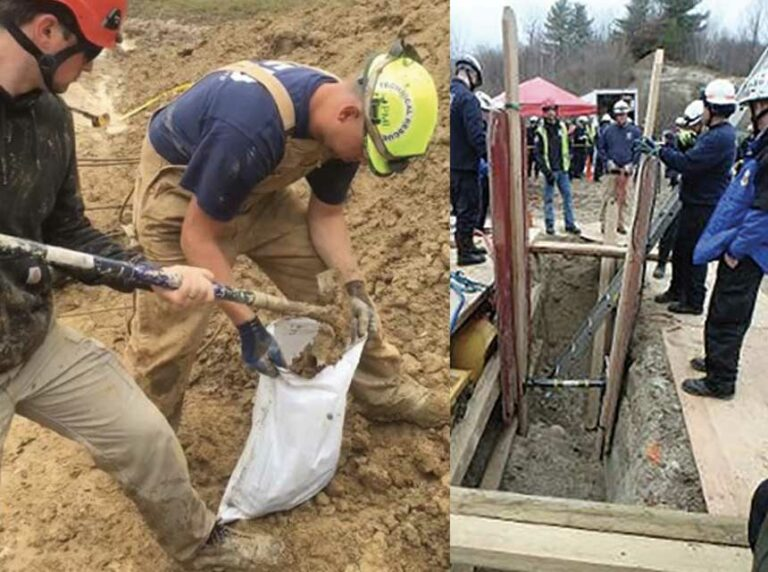 Trench Rescue: Controlling Soil