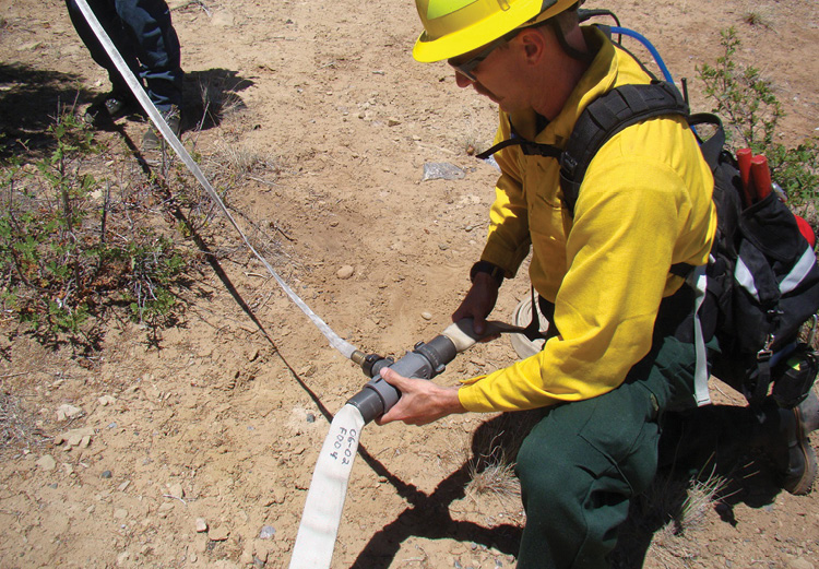 Wildland Tactics for the Structural Firefighter