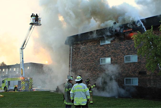 Bensenville (IL) Top-Floor Apartment Fire